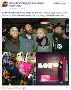 Beards for Brochoice Planned Parenthood FB event