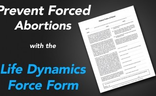Prevent forced abortion – use this pro-life tool