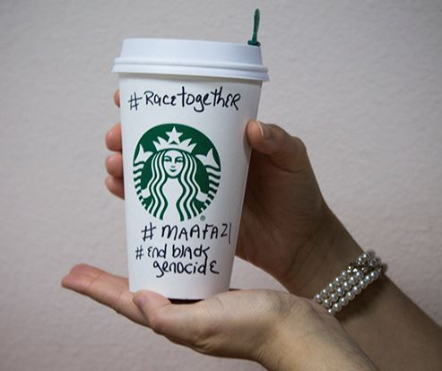 Starbucks RaceTogether abortion Planned Parenthood Maafa21