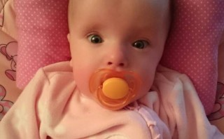 Miracle baby born at 23 weeks now breathes on her own