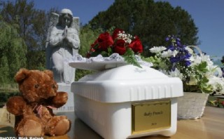 Baby Francis discarded as sewage finally laid to rest