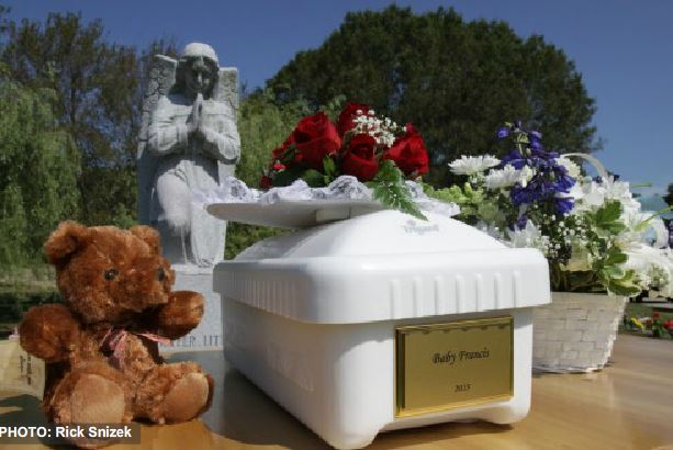 Baby Francis FUneral