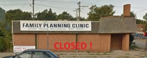 Abortion Clinic CLosed Friendship-GaryINCLOSED