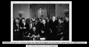 LBJ Civil Rights ACt 1964