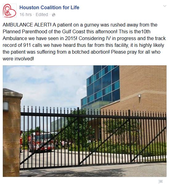 Aug 2015 Ambulance PP Houston